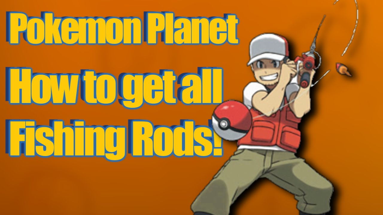 Fishing Rod clipart pokemon Rods! Fishing Planet All All