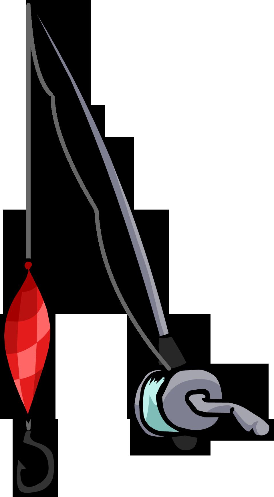 Fishing Rod clipart real Penguin Rod Fishing Rod Wiki