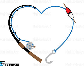 Fishing Rod clipart real Svg graphic rod / design