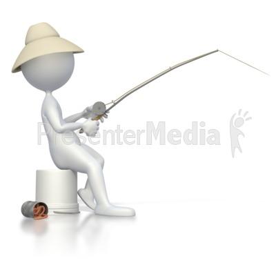 Fishing Rod clipart stick figure Stick Figure  Fishing Recreation