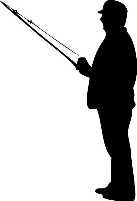 Fishing Rod clipart stick man Pixabay Fishing on Rod on