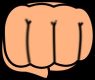 Fist clipart chibi Download Bump arts com 1)