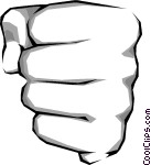 Fist clipart clenched fist Clipart Two Clipart Clenched Fist