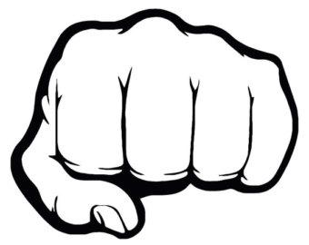 Fist clipart fist pump Bump Fist Decal Fist Vinyl