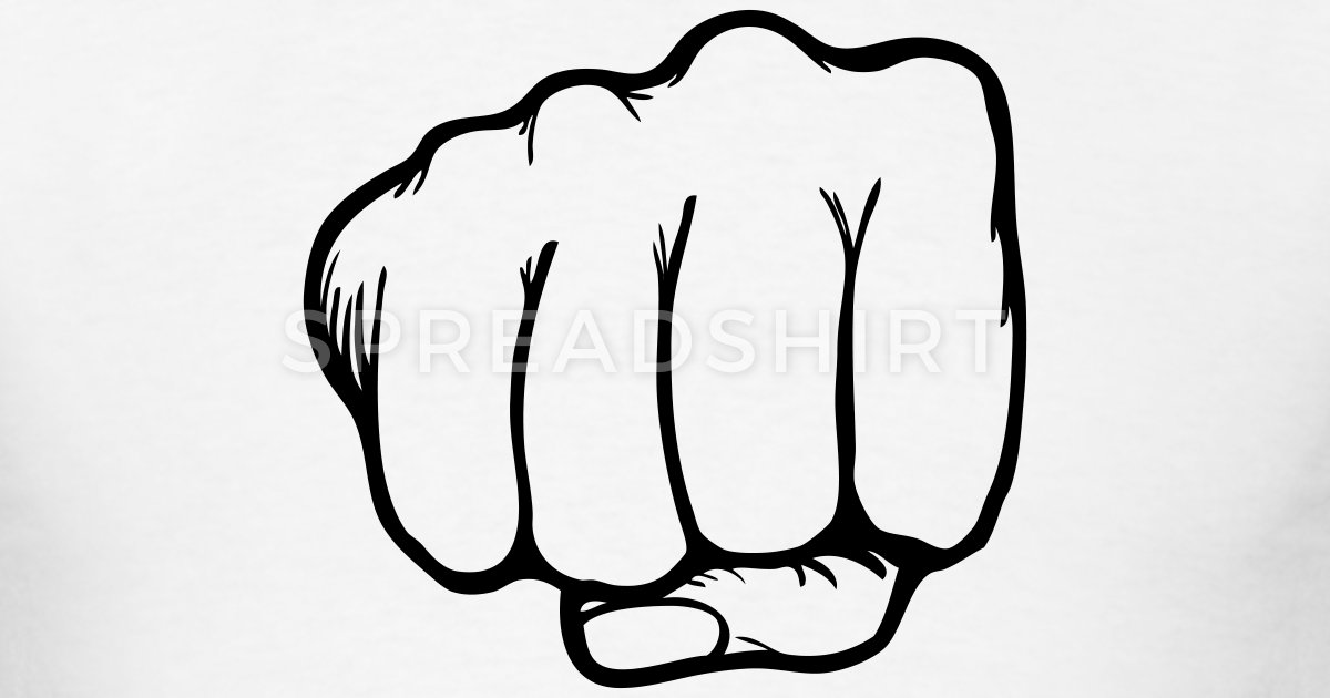 Fist clipart fist punch Kung T Punch Karate Spreadshirt