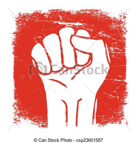 Fist clipart grunge Art fist Vector  Fist