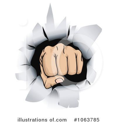 Fist clipart impact Royalty Fist Free (RF) Illustration