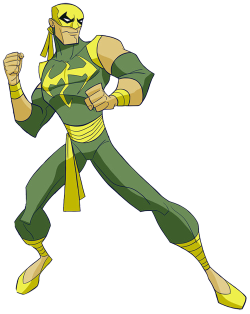 Fist clipart iron fist Man Heroes Spider Fist