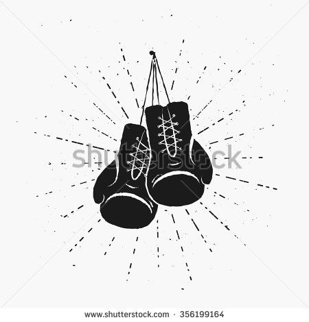 Fist clipart kickboxing glove Boxing Vintage Something tattoo to
