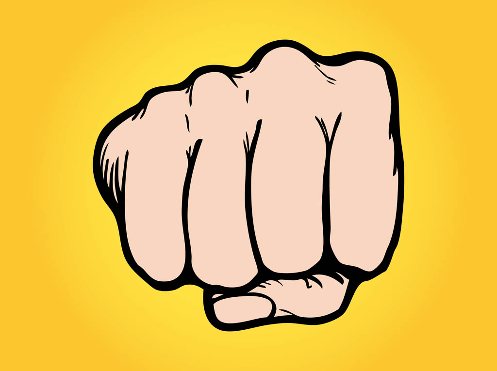 Fist clipart knockout Cliparts Punching Punching Clipart Free