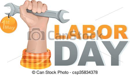 Fist clipart labor Greeting fist Hand wrench may