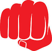 Fist clipart red Fist Fist Royalty Punch Art
