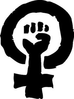 Fist clipart respect Equality  BnW Feminism Fist