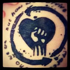 Fist clipart rise against Is  what My Tattoo