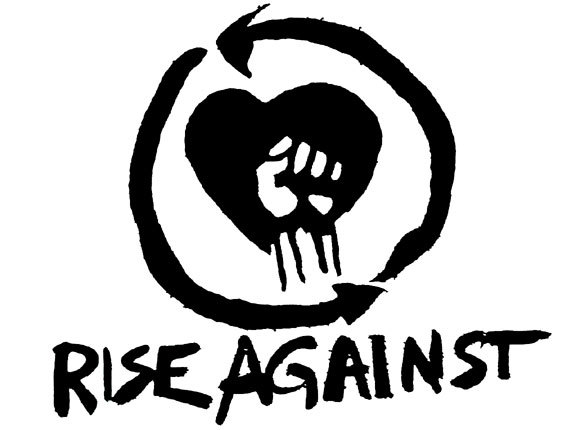 Fist clipart rise against Logo Поиск rise logo Pinterest