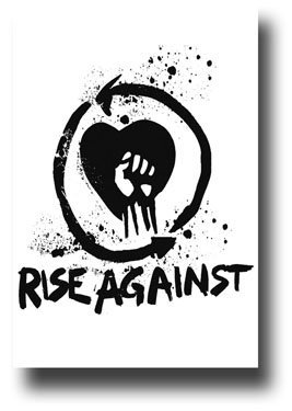 Fist clipart rise against Poster by Rise Poster Fist