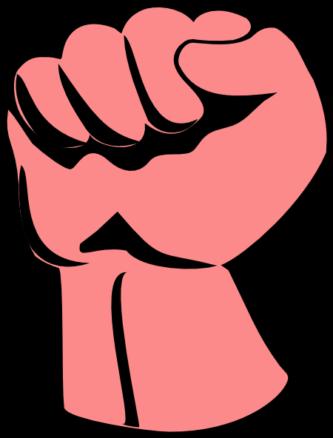 #8799 Small Fist Fist ClipartPen