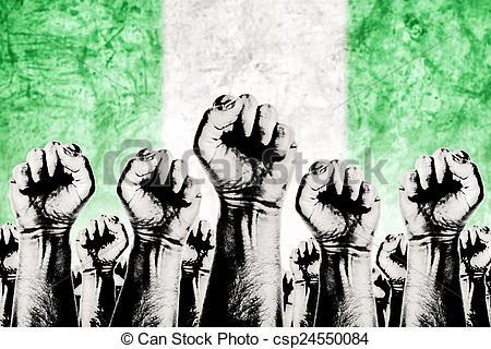 Fist clipart union strike Labor movement Labor strike Nigeria