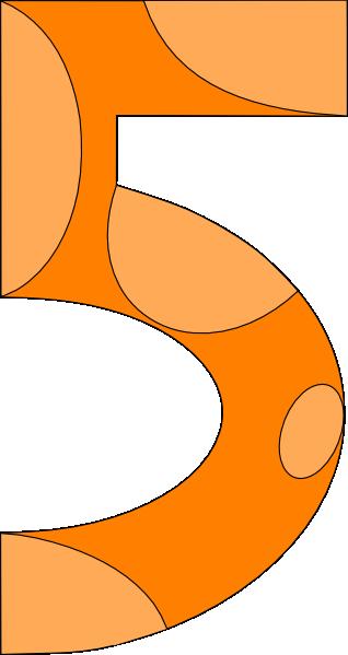 Five clipart Vector Style Art clip