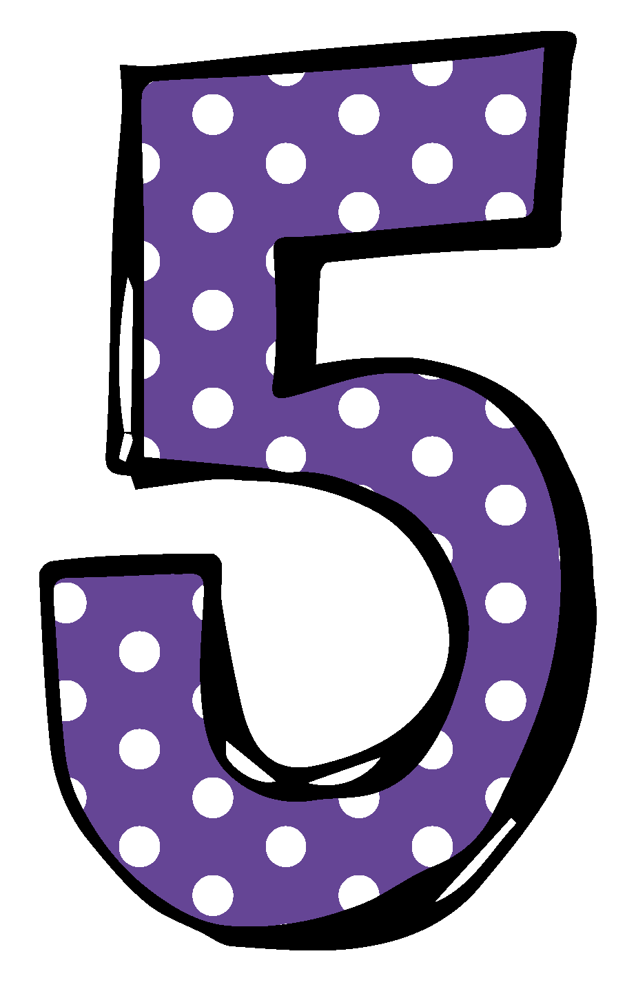 Five clipart For and Five Five for