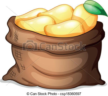 Mango clipart basket mango Of free Illustration and mangoes