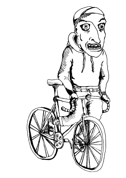 Fixie clipart bycicle