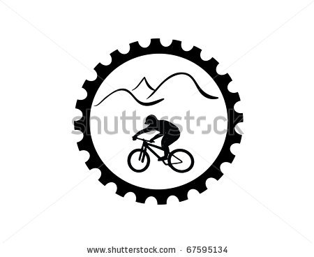 Fixie clipart bike symbol Gear Bike Vector Clip Art