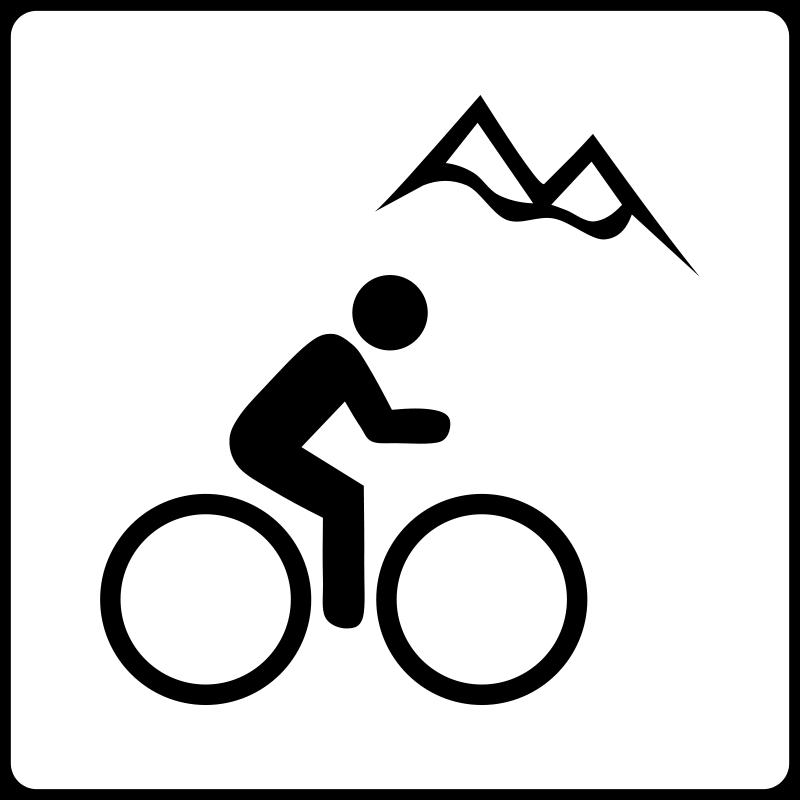 Fixie clipart bike symbol Hotel Near Mountain Bike Icon