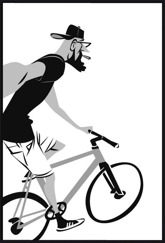"Fixie clipart cycle ""Hipster resistant Selfie Fixie"" Selfie"