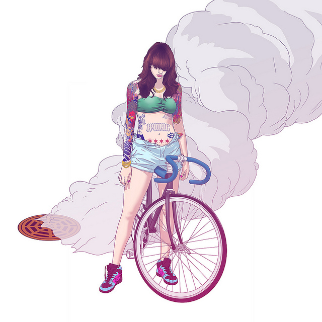 Fixie clipart female 3 Page Gear Alleycat Share