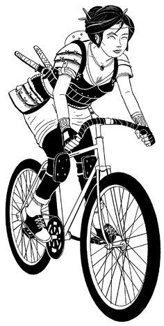 Fixie clipart female Girls 1366x768 fixie Bike in