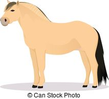 Fjord clipart Fjord Horse Clipart Clipart  Royalty Fjord Vector