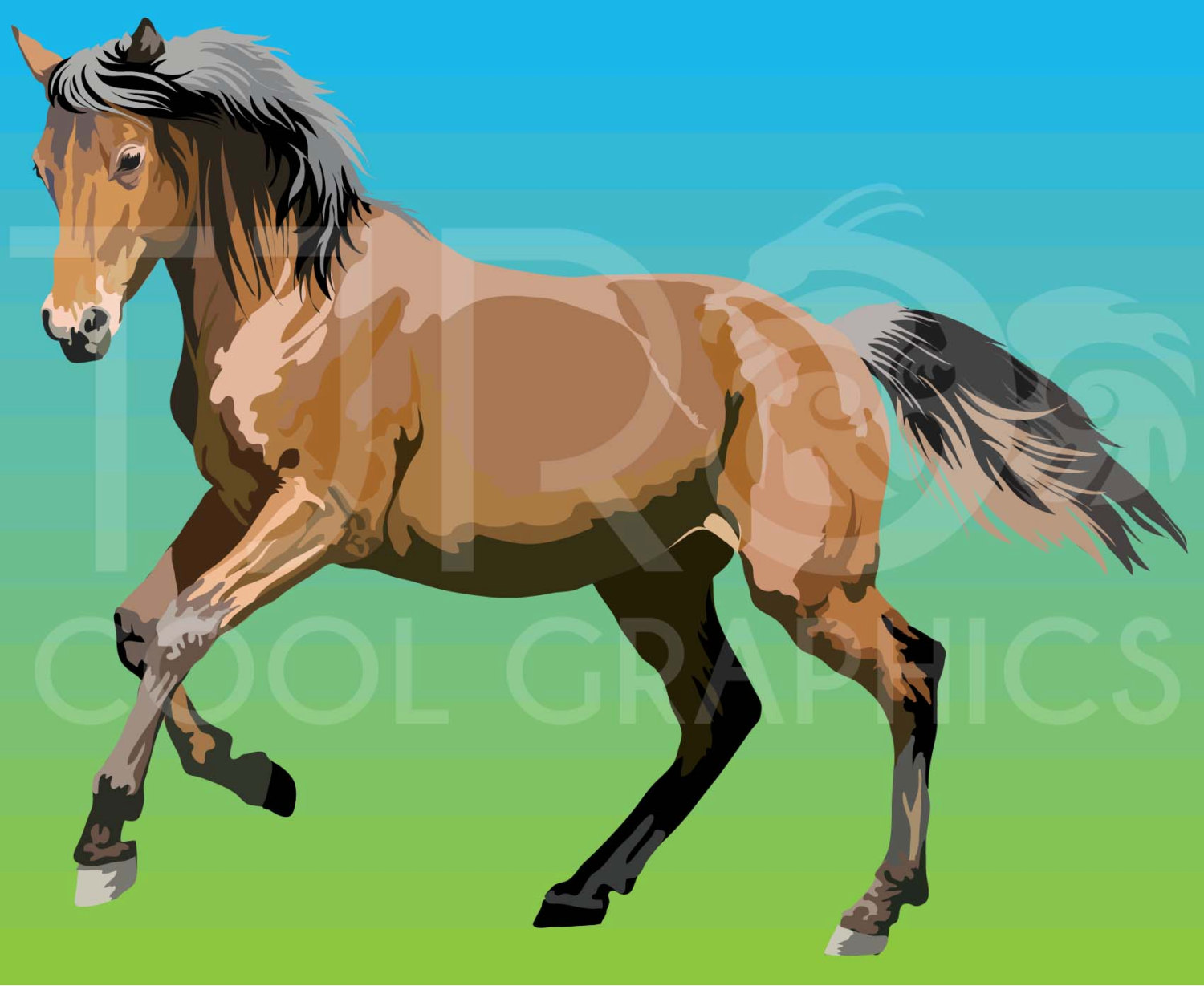 Fjord clipart Fjord Horse Clipart  3 Clip PNG by