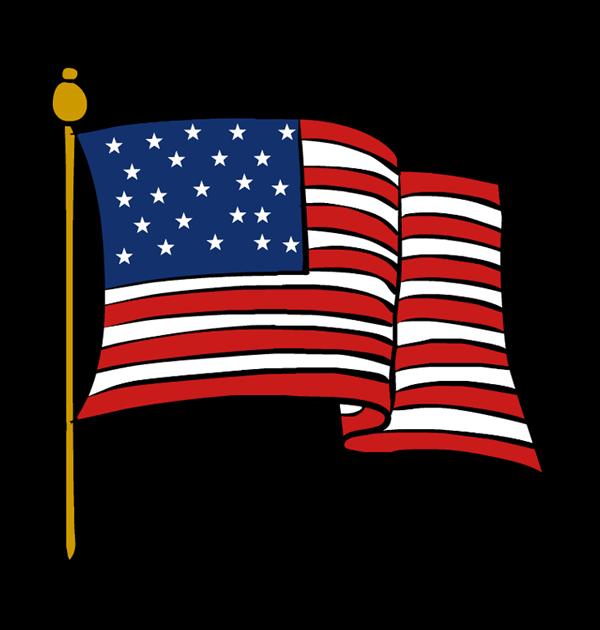 Flag clipart Clipart Clipart veterans day Clipart