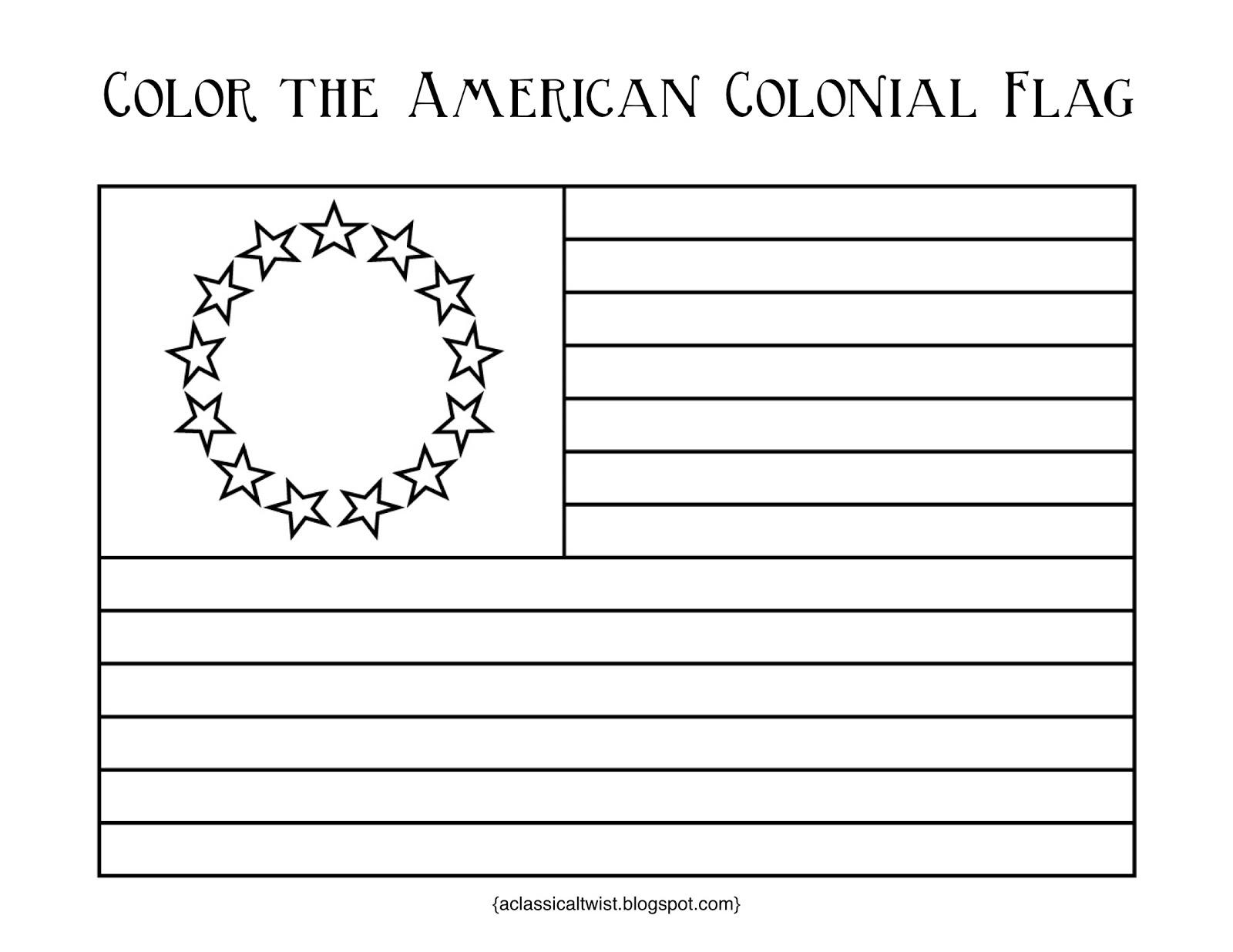 America clipart colonial flag With Classical Homeschooling colony The