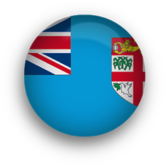 Flag clipart fiji Free round Flags Animated button