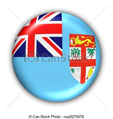 Flag clipart fiji Stock Series Flag Fiji Illustration