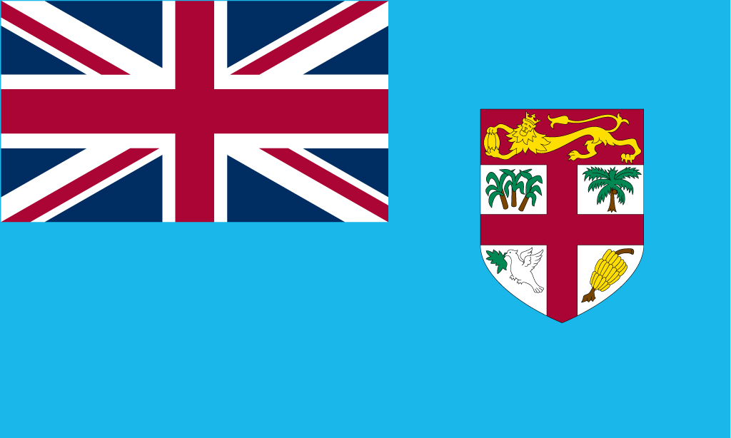 Flag clipart fiji Flag Downloads Flag Fiji National