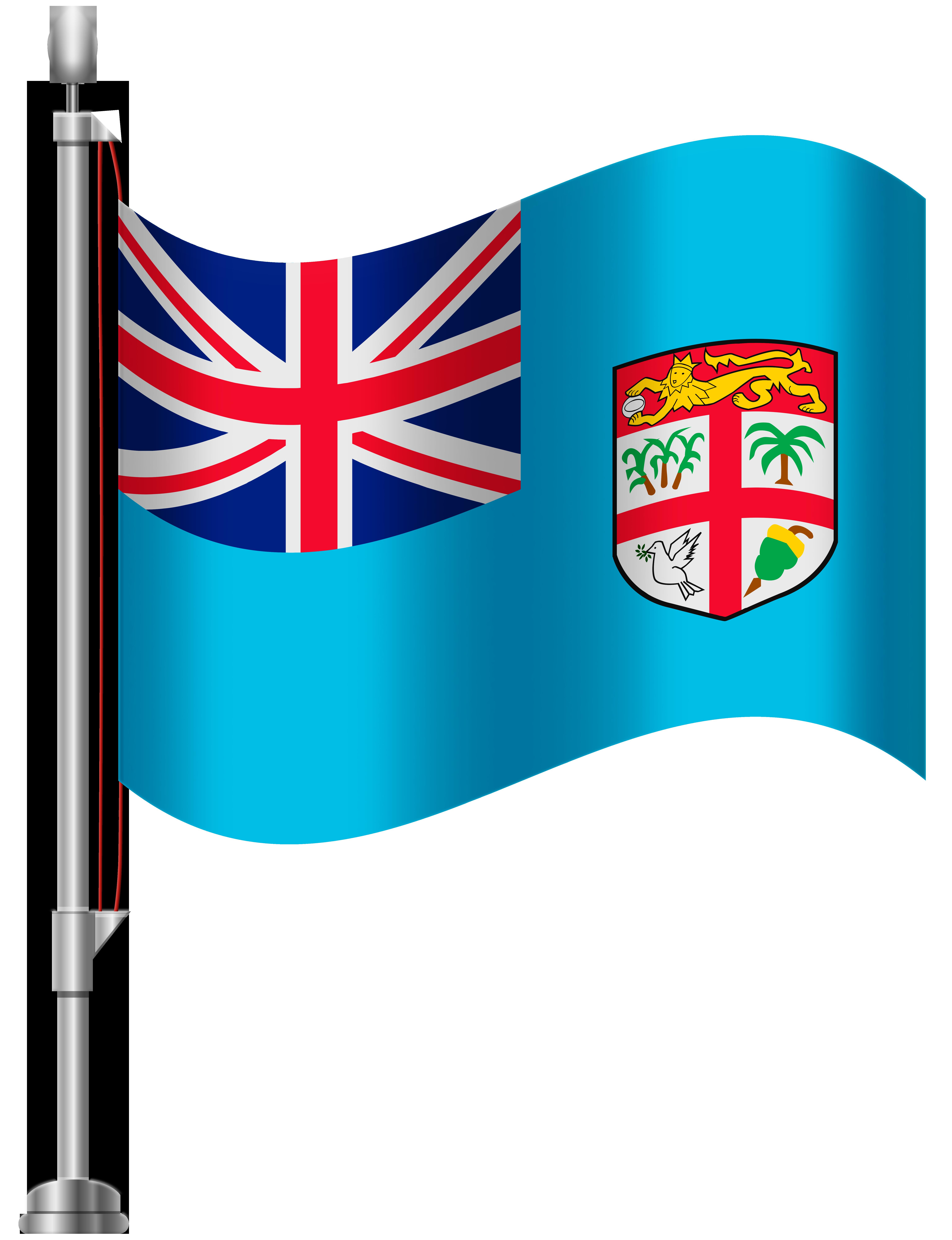 Flag clipart fiji Clip WEB Flag Flag Art
