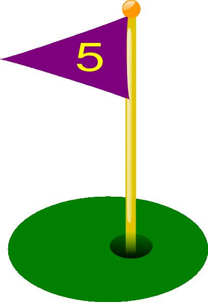 Flag clipart mini golf Clip Mini Art Golf Clip