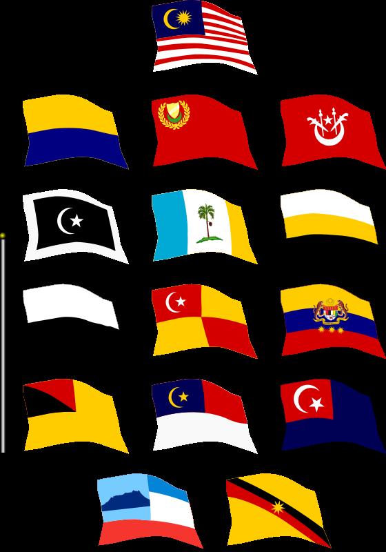Flag clipart perak MEDIUM of Flying IMAGE Flags