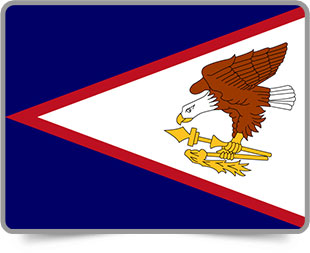Flag clipart samoan American flag Animated American 3D