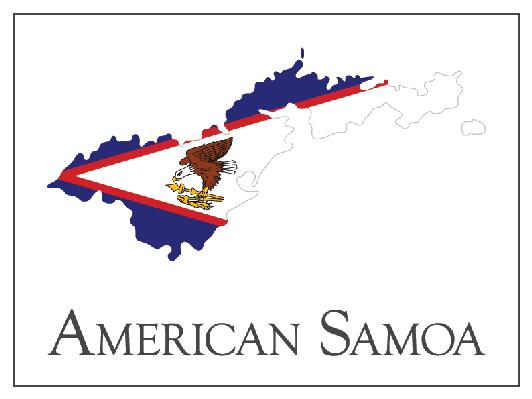 Flag clipart samoan American Map Social  Flag