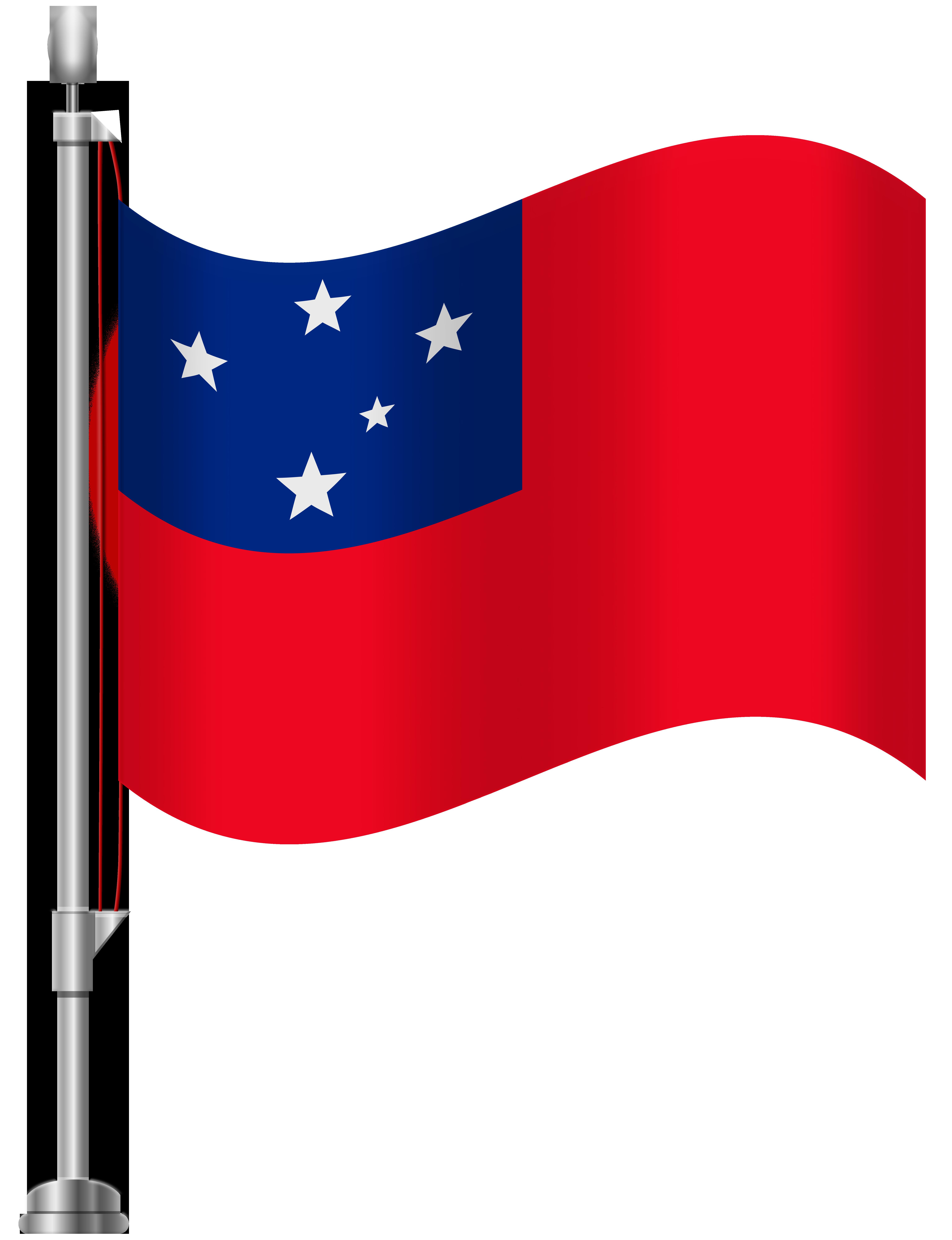 Flag clipart perak WEB Best Samoa Art Flag