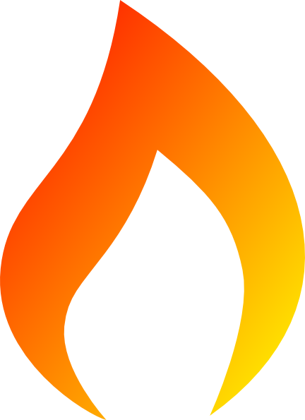 Flame clipart Flame Clipart Panda Image Art