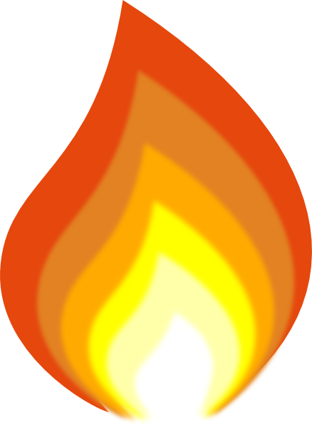 Flame clipart Free images free art clipart
