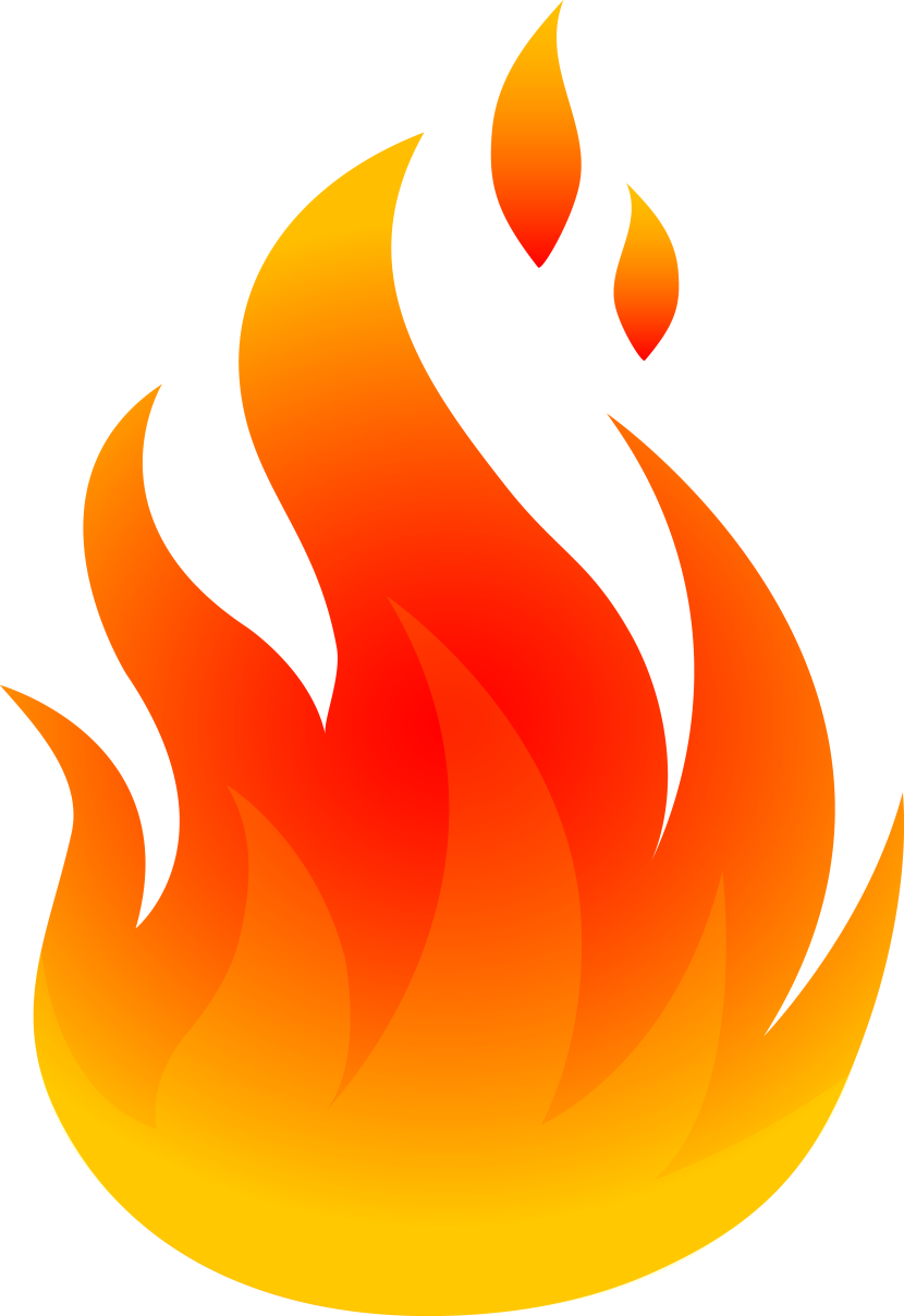 Flames clipart row Com art images free Cliparting