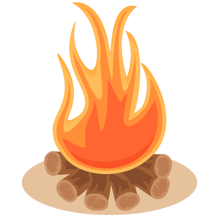 Changing To Night  clipart campfire Files cute silhouette art SVG