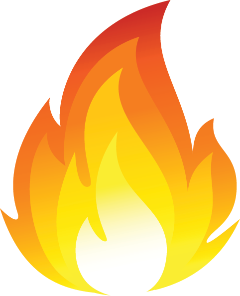 Disaster clipart fire smoke Fire program project: confirmation vector
