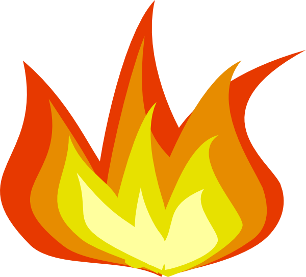 Match clipart bad habit Flames Clipart Fire Images Flames